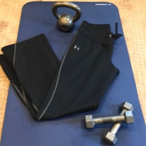 Under Armour Green Cold Gear Fleece Pants